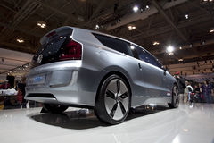 2010 Volkswagen Up! concept car at 2010 Autoshow Stock Image