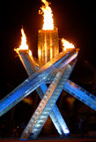 2010 Winter Olympics Cauldron Royalty Free Stock Photography