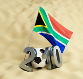 2010 World Cup. South Africa royalty free illustration