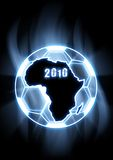 2010 World Cup Soccer. Illustration representing the South African 2010 World Cup Soccer Stock Photo