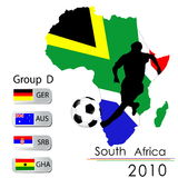 2010 World Cup South Africa Stock Image