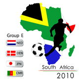 2010 World Cup South Africa Royalty Free Stock Photos