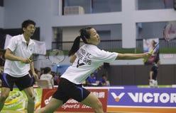 2010 WUC Badminton-Meisterschaft Lizenzfreies Stockfoto