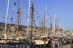 2010 wysoki regatta statek Fotografia Stock