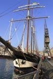 2010 wysoki regatta statek Obraz Royalty Free