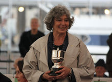 2010 wysoki regatta statek Fotografia Royalty Free