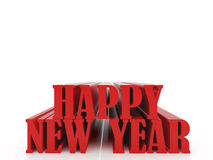 2010 year nine. High resolution image new-year.  3d illustration over white backgrounds Stock Illustration