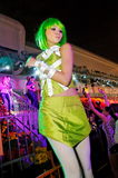 2010 żywy miasta kostiumu tancerza taniec Zdjęcia Royalty Free