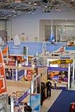 2011个大蓝色商展罗马海运立场 免版税库存照片