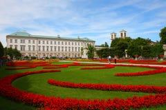 2011个庭院mirabell萨尔茨堡 免版税库存图片