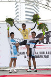 2011个循环马来西亚ocbc赢利地区 免版税图库摄影