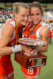 2011个杯子欧洲最终德国曲棍球妇女的 库存图片