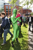 2011个每年布里斯托尔同性恋者自豪感 免版税图库摄影