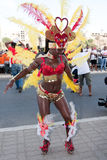 2011个每年海角狂欢节verde 免版税图库摄影