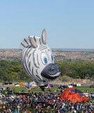 2011个气球节日国际 库存照片