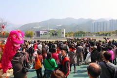 2011中国新的raceday年 库存照片