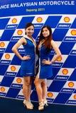 2011全部马来西亚摩托车prix 库存照片