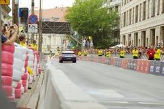 2011回到nascar赛跑的街道verva视图 库存图片