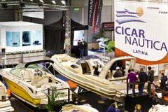 2011大蓝色cicar商展nautica罗马海运 免版税库存图片