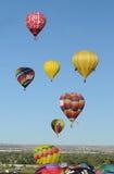 2011年亚伯科基气球节日国际 库存照片