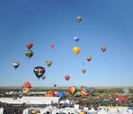 2011年亚伯科基气球节日国际nm 免版税库存图片
