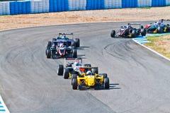 2011年冠军欧洲f3 免版税库存照片