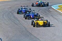 2011年冠军欧洲f3 库存图片