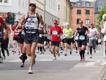 2011年哥本哈根马拉松 库存图片