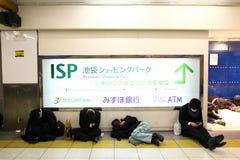 2011年地震日本 库存图片