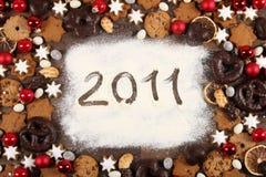 2011年快活的圣诞节 免版税图库摄影