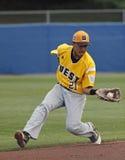 2011年棒球联盟高级系列游击手世界 免版税库存照片