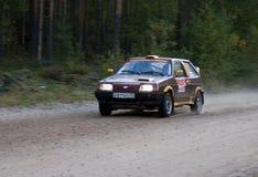 2011年汽车lada彼得斯堡集会st 免版税库存照片