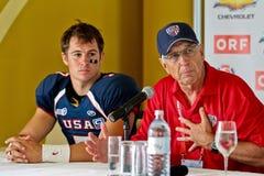 2011年澳洲橄榄球美国与wc 库存图片
