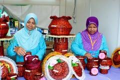 2011年狂欢节企业家农村的putrajaya 免版税图库摄影