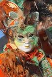 2011年狂欢节传统威尼斯式 库存照片