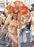 2011年狂欢节哥本哈根游行 免版税库存照片