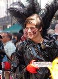 2011年狂欢节哥本哈根游行 库存图片
