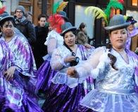 2011年狂欢节巴黎 免版税库存图片