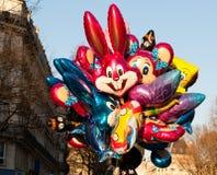2011年狂欢节巴黎 免版税库存照片