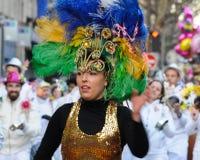 2011年狂欢节巴黎 免版税图库摄影