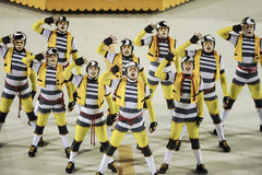 2011年狂欢节 免版税库存图片
