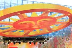 2011年狂欢节maslenitsa莫斯科俄语 免版税库存照片