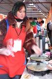 2011年狂欢节maslenitsa莫斯科俄语 免版税库存图片