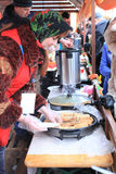 2011年狂欢节maslenitsa莫斯科俄语 免版税图库摄影