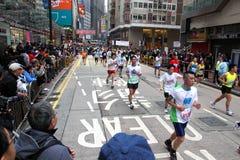 2011年香港马拉松 免版税图库摄影