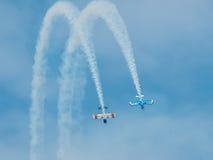 2011年airshow国际森德兰 图库摄影