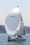 2011年bosphorus收集杯子航行w 免版税库存照片