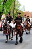 2011年brasov 6月可能游行罗马尼亚 库存照片