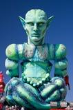 2011年carnevale di viareggio 免版税库存图片