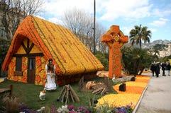 2011年ciitrus节日menton 库存照片